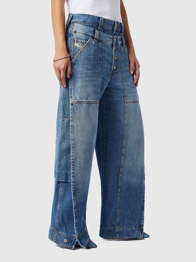 Diesel - D-Laly 0AFAM, Medium blue - Jeans - Image 7
