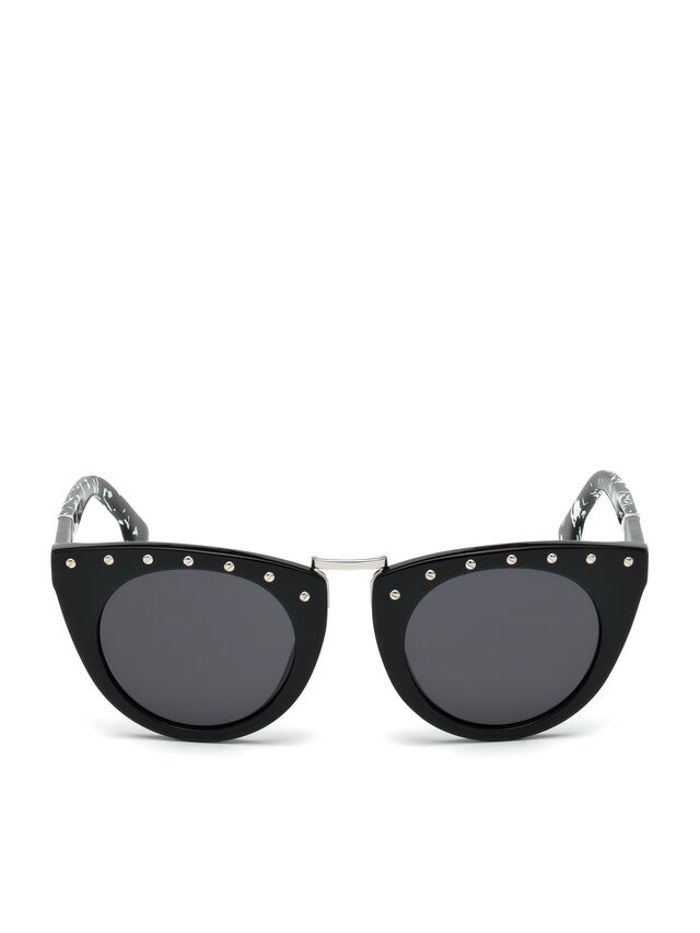 Diesel - DL0211, Black - Sunglasses - Image 1