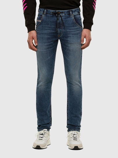 Diesel - KROOLEY JoggJeans® 069NL, Medium blue - Jeans - Image 1