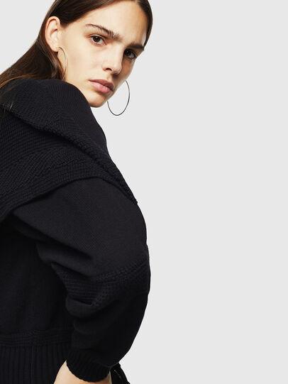 Diesel - M-TESY, Black - Knitwear - Image 4