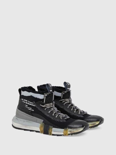 Diesel - H-PADOLA GL, Black - Sneakers - Image 2