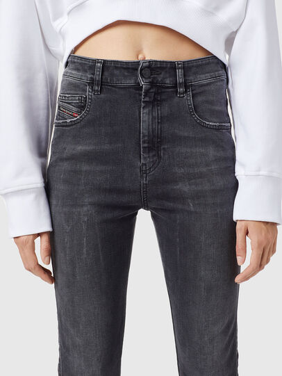 Diesel - Slandy High 069XP, Black/Dark grey - Jeans - Image 3