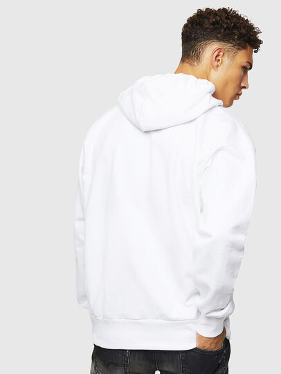 Diesel - S-ALBY-D1, White - Sweaters - Image 3