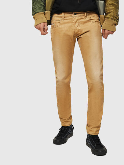 Diesel - D-Bazer 0091T, Light Brown - Jeans - Image 1