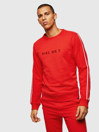 Diesel - UMLT-WILLY, Red - Sweaters - Image 1