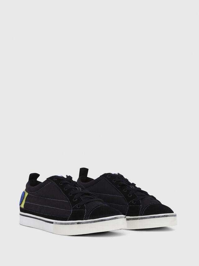 Diesel - D-VELOWS LOW PATCH, Black - Sneakers - Image 2