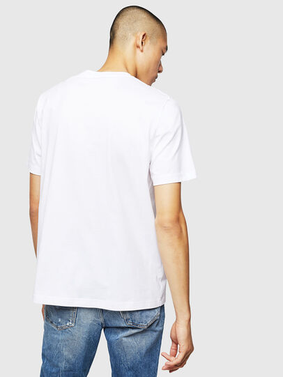 Diesel - T-JUST-B1, White - T-Shirts - Image 2