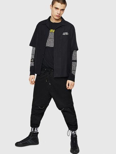 Diesel - S-KULKOV, Black - Shirts - Image 6