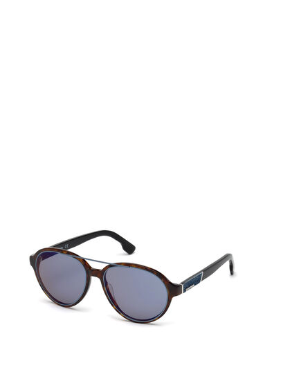 Diesel - DL0214, Brown - Sunglasses - Image 4
