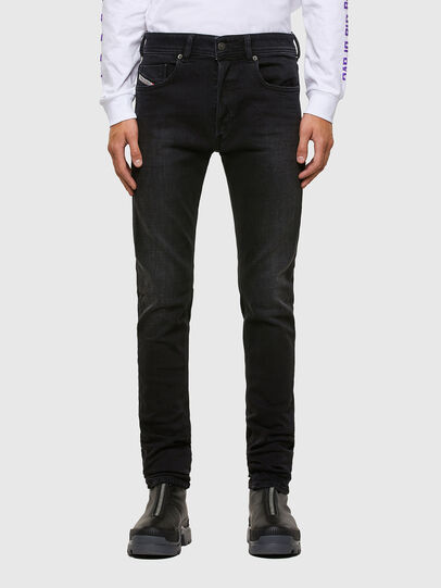 Diesel - Sleenker 009DH, Black/Dark grey - Jeans - Image 1