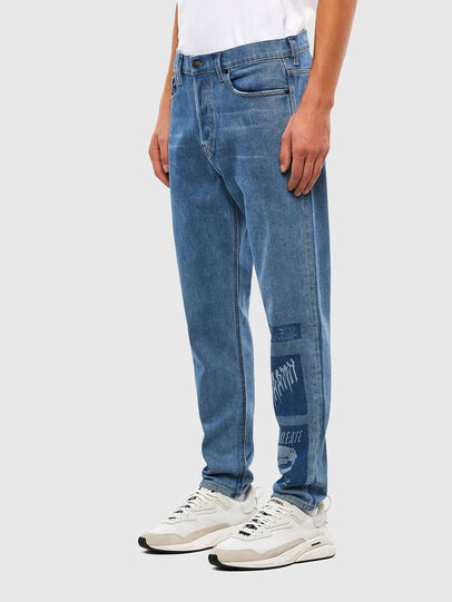 Diesel - D-Vider 009GD, Medium blue - Jeans - Image 4