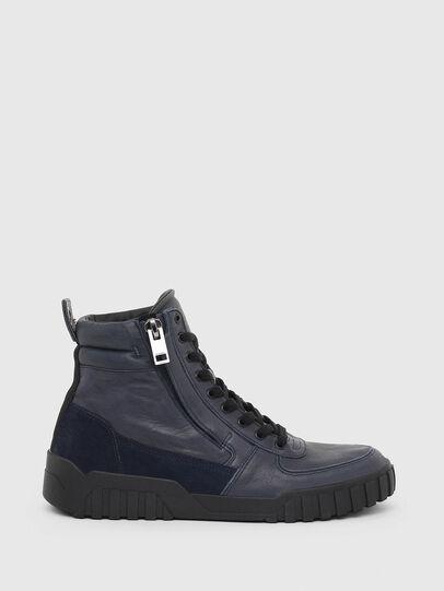 Diesel - S-RUA MID, Blue - Sneakers - Image 1