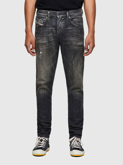 Diesel - D-Strukt JoggJeans® 09B54, Black/Dark grey - Jeans - Image 1