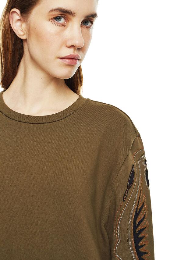 Diesel - DRESSIE, Military Green - Dresses - Image 4