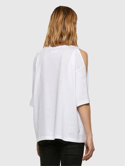 Diesel - T-RASSEL, White - T-Shirts - Image 7