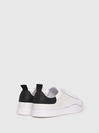 Diesel - S-CLEVER LOW, White/Black - Sneakers - Image 3