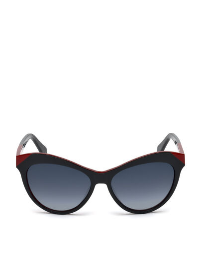 Diesel - DL0225, Black - Sunglasses - Image 1