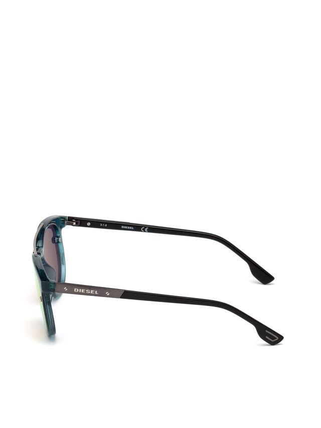 Diesel - DL0216, Blue/Orange - Sunglasses - Image 3
