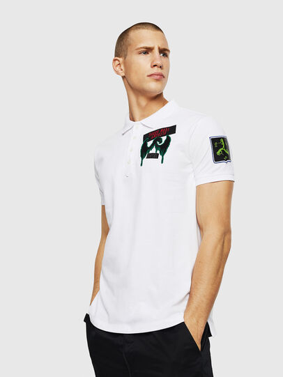 Diesel - T-POLO-PATCHES,  - Polos - Image 4