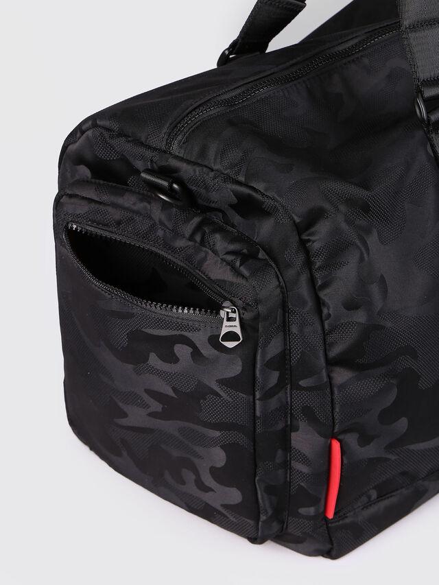 Diesel F-DISCOVER DUFFLE, Black - Travel Bags - Image 4