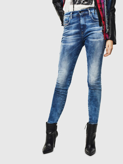 Diesel - Slandy High 0096J, Medium blue - Jeans - Image 1