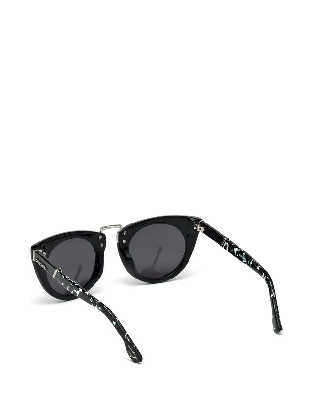 Diesel - DL0211, Black - Eyewear - Image 2