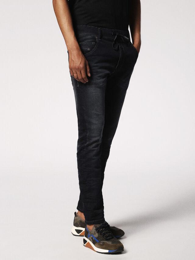 Diesel - KROOLEY JOGGJEANS 0686F, Dark Blue - Jeans - Image 4