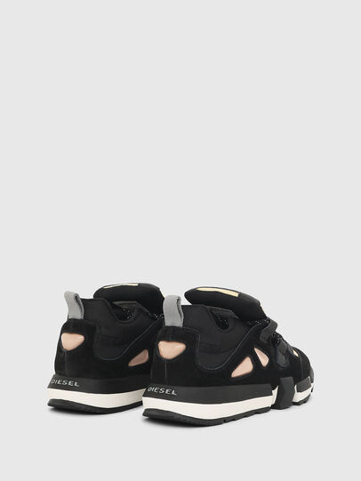 Diesel - H-PADOLA SL W, Black/Yellow - Sneakers - Image 3