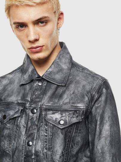 Diesel - L-NHILL,  - Leather jackets - Image 3