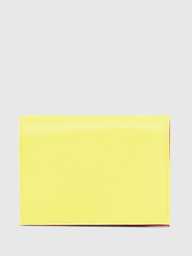 Diesel - PASSPORT, Yellow - Continental Wallets - Image 2