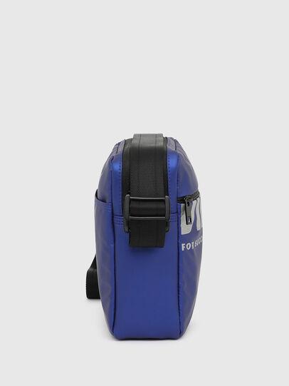Diesel - F-BOLD DOUBLECROSS I, Blue - Crossbody Bags - Image 3