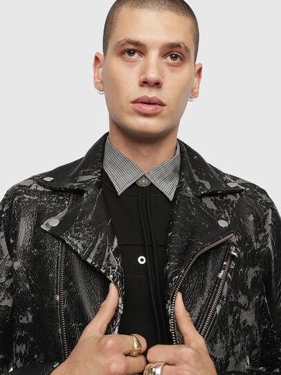 Diesel - L-KRAMPIS-A,  - Leather jackets - Image 5