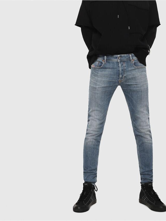 Diesel - Sleenker 086AP, Medium blue - Jeans - Image 1