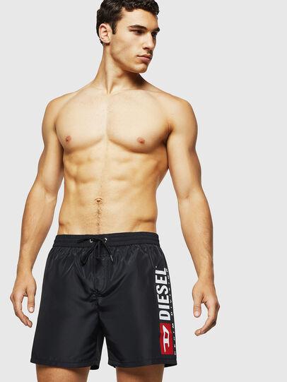 Diesel - BMBX-WAVE 2.017, Black - Swim shorts - Image 1