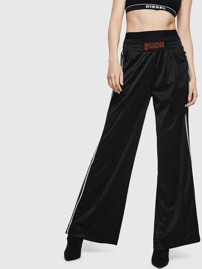 Diesel - P-AMURA, Black - Pants - Image 1