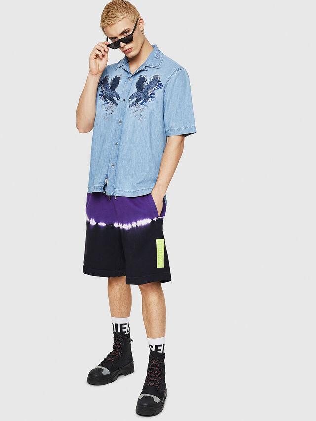 Diesel - D-RASHI, Blue Jeans - Denim Shirts - Image 4