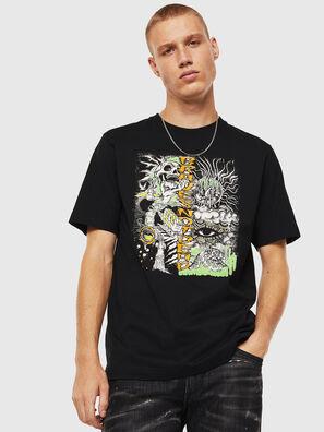 T-JUST-J13, Black - T-Shirts