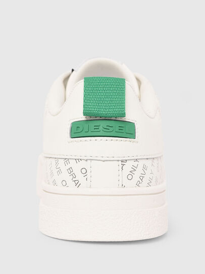 Diesel - S-CLEVER LOW LACE, White/Green - Sneakers - Image 5