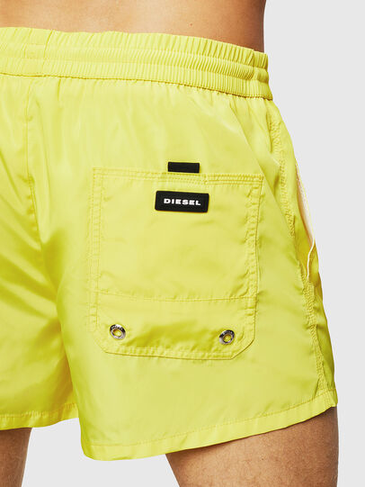 Diesel - BMBX-CAYBAY SHORT, Yellow - Swim shorts - Image 4