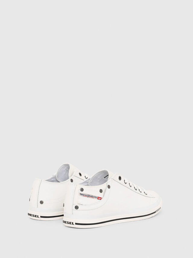 Diesel EXPOSURE LOW I, White - Sneakers - Image 3
