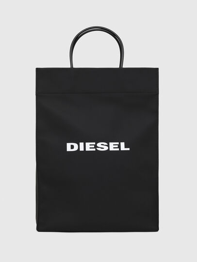 Diesel - SAKETTONE, Black - Shopping and Shoulder Bags - Image 1