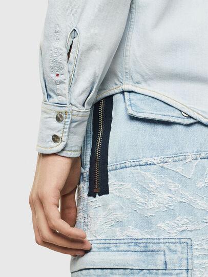 Diesel - D-EAST-P, Blue Jeans - Denim Shirts - Image 3