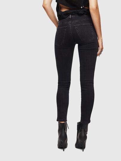 Diesel - Babhila 0870G, Black/Dark grey - Jeans - Image 2