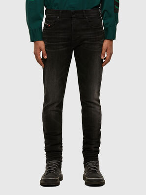 D-Strukt 0098B, Black/Dark grey - Jeans