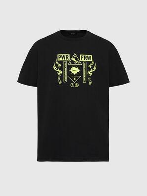 T-JUST-X65, Black - T-Shirts