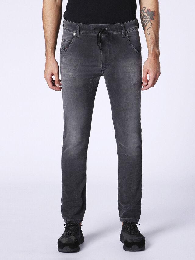 KROOLEY R JOGGJEANS 084NA, Black Jeans