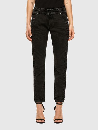 Diesel - KRAILEY JoggJeans® 009FY, Black/Dark grey - Jeans - Image 1