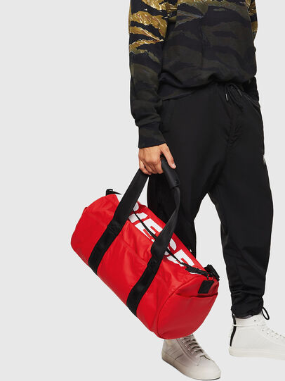 Diesel - F-BOLD DUFFLE, Red - Travel Bags - Image 6