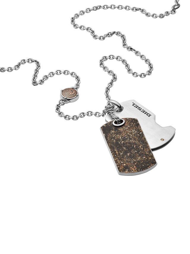 NECKLACE DX1079, Bronze Bright