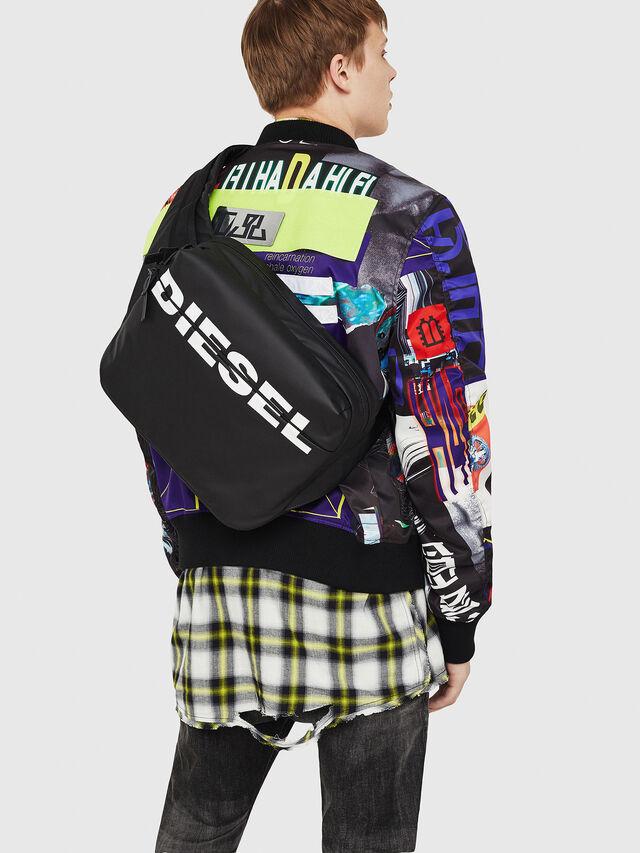 Diesel - F-BOLD CROSS, Black - Crossbody Bags - Image 2